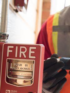 Mantención de sistema contra incendio
